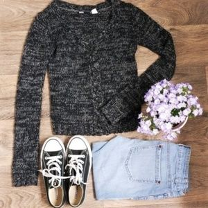Urban Outfitters//BDG Gray Marled Knit Cardigan S